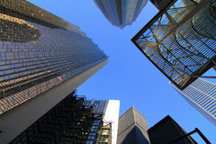 Buildings and offices in the downtown Royalty Free Stock Photography