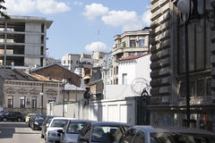 Buildings from old Bucharest Stock Photo
