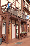Buildings in old style. Kaliningrad. Russia Royalty Free Stock Photo