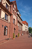 Buildings in old style. Kaliningrad. Russia Stock Photography
