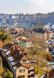 Buildings in the old town of Bern Royalty Free Stock Images
