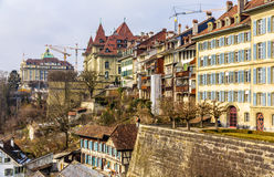 Buildings in the old town of Bern Stock Photos