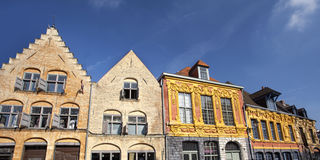 Buildings in the old town of Lille, France Stock Photography