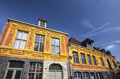 Buildings in the old town of Lille, France Royalty Free Stock Photo