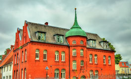 Buildings in the old town of Lubeck - Germany Stock Photography