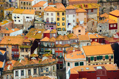 Buildings in the old town Porto, Portugal Stock Photos