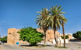 Buildings in the old town of Tozeur, Tunisia. North Africa Stock Photos