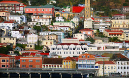 Free Buildings On A Hill Royalty Free Stock Photography - 14193637
