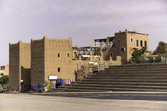 Buildings in  ouarzazate. Old Fort - the kasbah in ouarzazate Stock Photo
