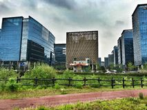 Buildings in Pangyo Royalty Free Stock Photo