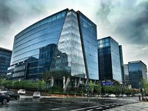 Buildings in Pangyo Royalty Free Stock Image