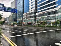 Buildings in Pangyo Stock Photography