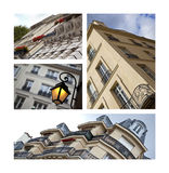 Buildings in Paris Stock Photography