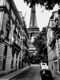 Between the buildings of Paris Stock Photo