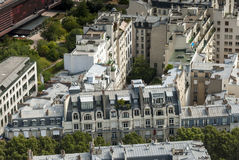 Buildings in Paris France Royalty Free Stock Photography