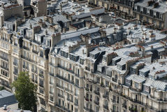 Buildings in Paris France Royalty Free Stock Photos