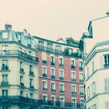 Buildings in Paris Stock Photo