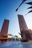 Buildings on Paseo de la Reforma in Mexico Stock Photography