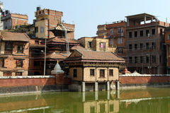 Buildings in Patan Stock Photography