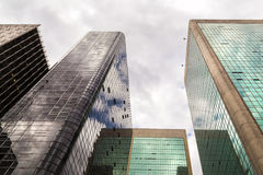Buildings in Paulista Avenue in Sao Paulo, Brazil Royalty Free Stock Images