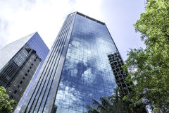 Buildings in Paulista Avenue in Sao Paulo, Brazil Royalty Free Stock Photos