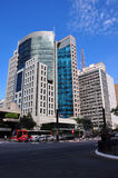 Buildings in Paulista Avenue in Sao Paulo, Brazil Stock Photography