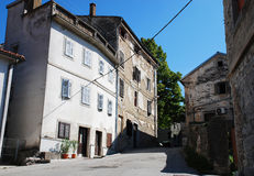 Buildings in Pazin Stock Images