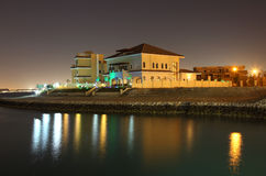Buildings at The Pearl, Doha Royalty Free Stock Images