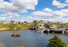 Buildings in Peggy's Cove Stock Photos