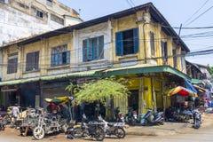 Buildings Phnom Penh Stock Photos
