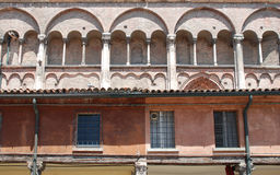 Buildings in Piazza Trento e Trieste Royalty Free Stock Photos
