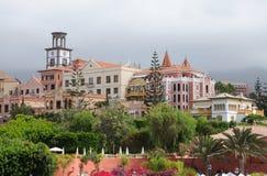 Buildings at Playa del Duque, Tenerife Stock Images