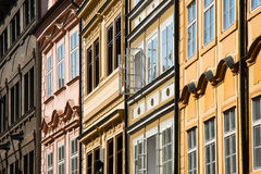 Buildings of Prague Stock Image