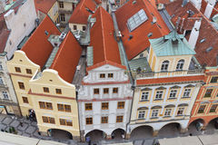 Buildings from Prague Royalty Free Stock Photos