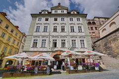 Buildings from Prague Royalty Free Stock Photography