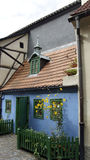 Buildings in prague. Details of old buildings in prague Stock Images