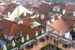 Buildings in Prague Royalty Free Stock Image