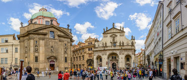 Buildings in Prague Royalty Free Stock Photography