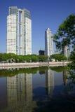 Buildings at Puerto Madero Stock Photo