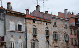 Buildings in Pula Royalty Free Stock Images