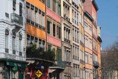 Buildings on Quais de Saone Stock Image