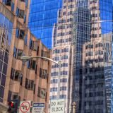 Buildings reflection Royalty Free Stock Photo