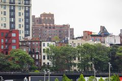 Buildings residential Brooklyn NY Stock Photography