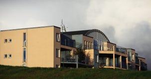 Buildings in Reykjavik Stock Image