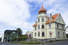 Buildings in Reykjavik Stock Photo