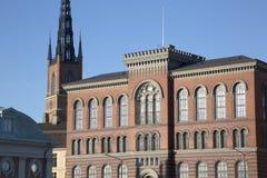 Buildings on Riddarholmen Island, Stockholm. Sweden Stock Photo