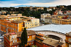 Buildings of Roma Royalty Free Stock Photography