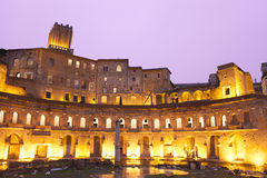 Buildings in Rome city Royalty Free Stock Photo