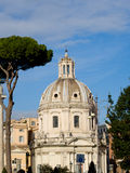The buildings of Rome. Royalty Free Stock Photography