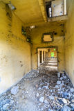 Buildings, ruins. Demolished buildings, industrial ruins, earthquake Royalty Free Stock Photos